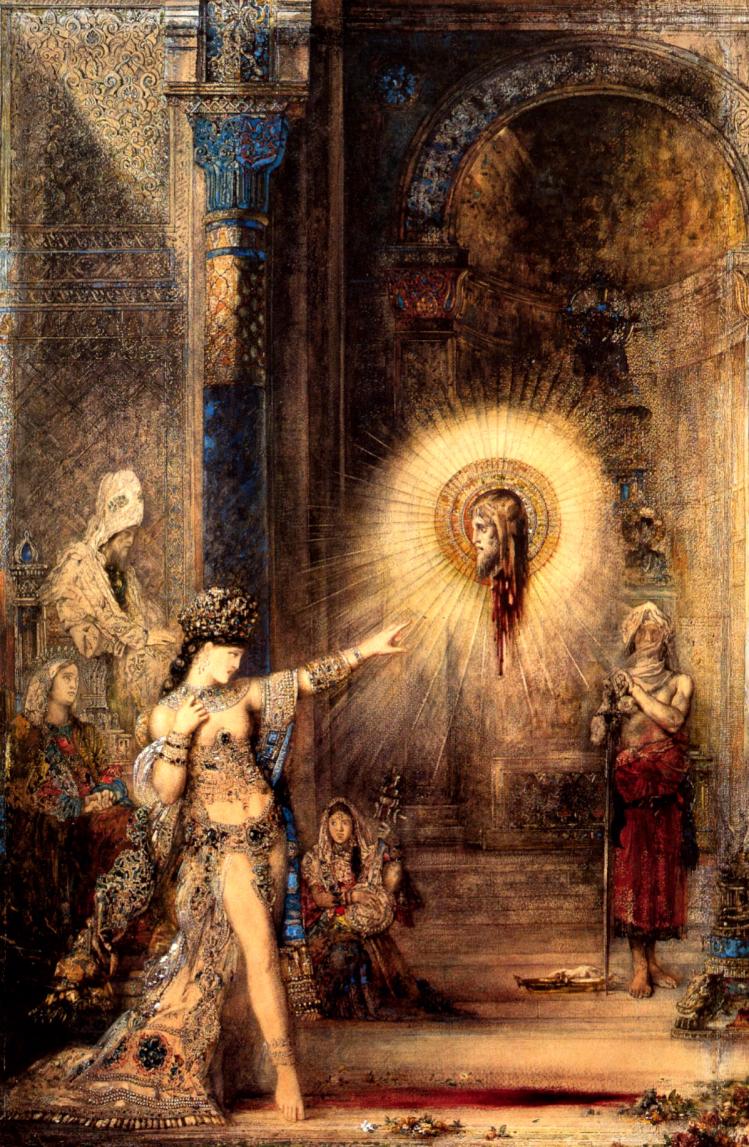 Apparizione | Gustave Moreau | simbolismo