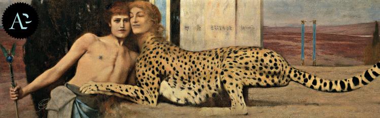 Caresses | Fernand Khnopff | The Art