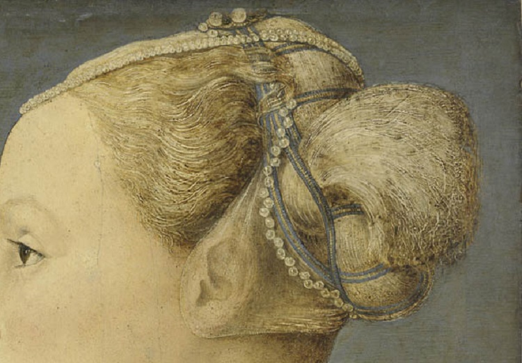 3  Pollaiolo ritratto donna