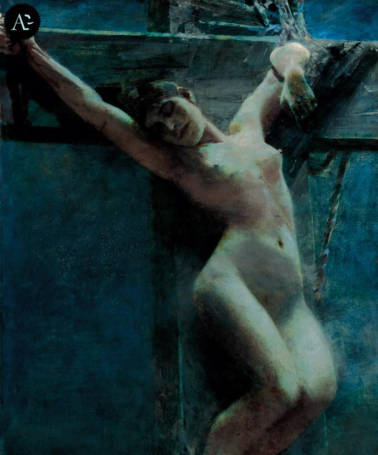 In the moonlight | Albert von Keller