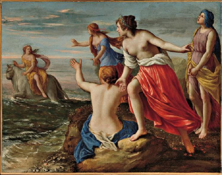 Alessandro Turchi, detto l'Orbetto Ratto d'Europa  1625-1630