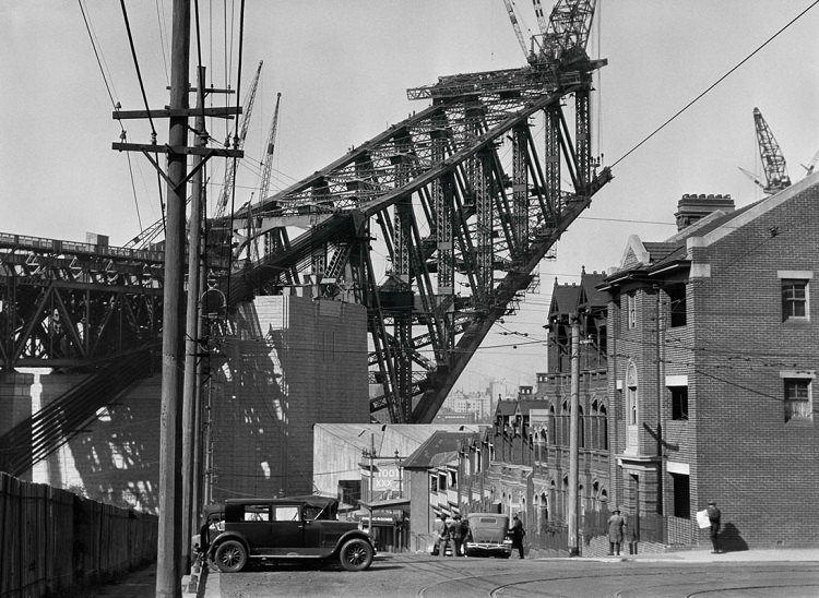 Sydney Harbour Bridge from the South Side,1930, Australia  Modern Digital Print © E.O. Hoppé Estate Collection / Curatorial Assistance