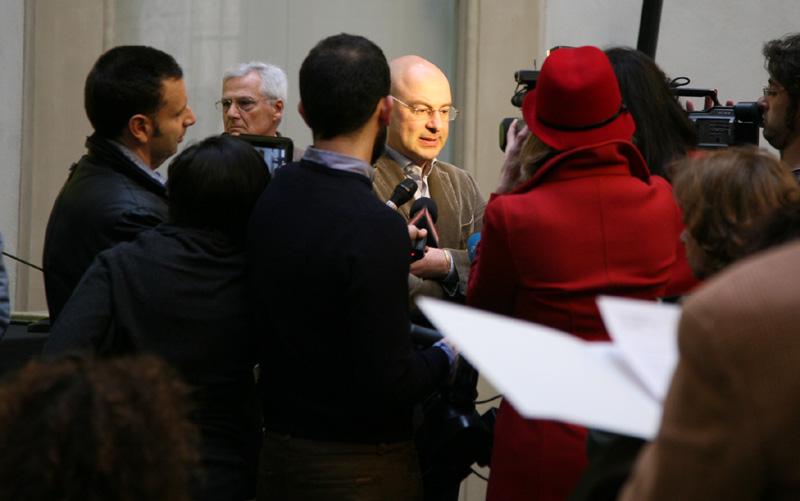 Goldin presenta la Mostra alla stampa