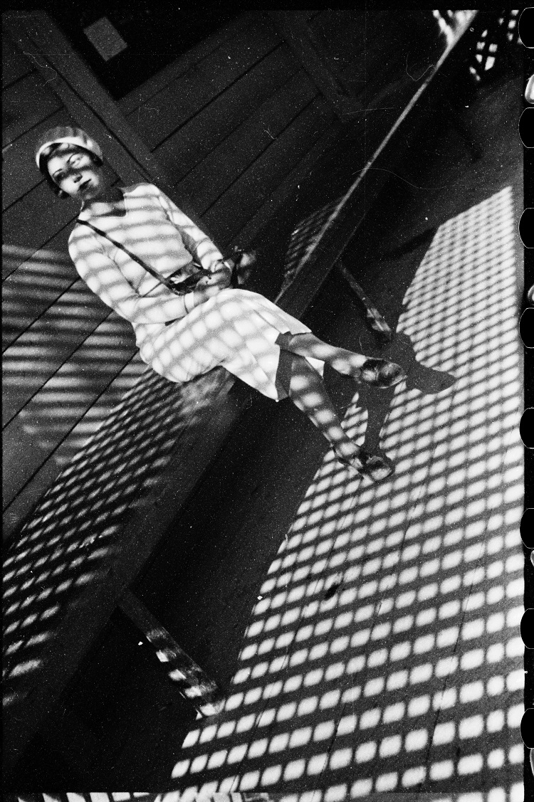 Alexander Rodchenko Girl with a Leica. 1934 Vintage Print Collection of Moscow House of Photography Museum/ Multimedia Art Museum Moscow © A. Rodchenko – V. Stepanova Archive  ©Moscow House of Photography Museum