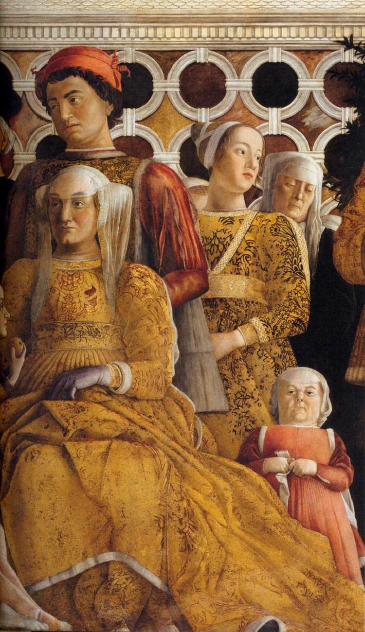 Il mistero della camera degli sposi for Camera picta mantegna