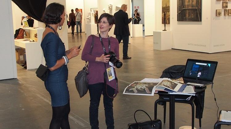 Incontri e scambi tra Art Blogger e Gallerista.