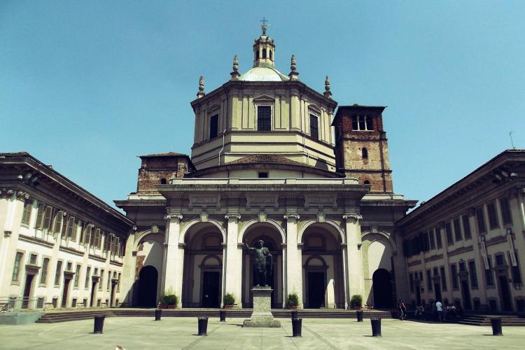 Basilica di San Lorenzo Maggiore | facciata | Milano