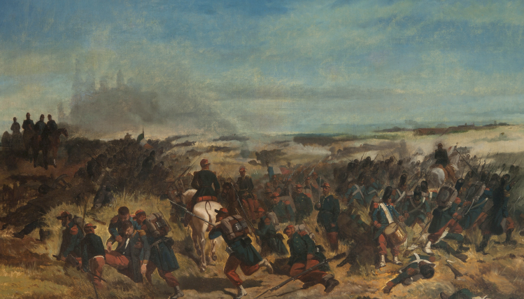 battaglia di Magenta | Giovanni Fattori