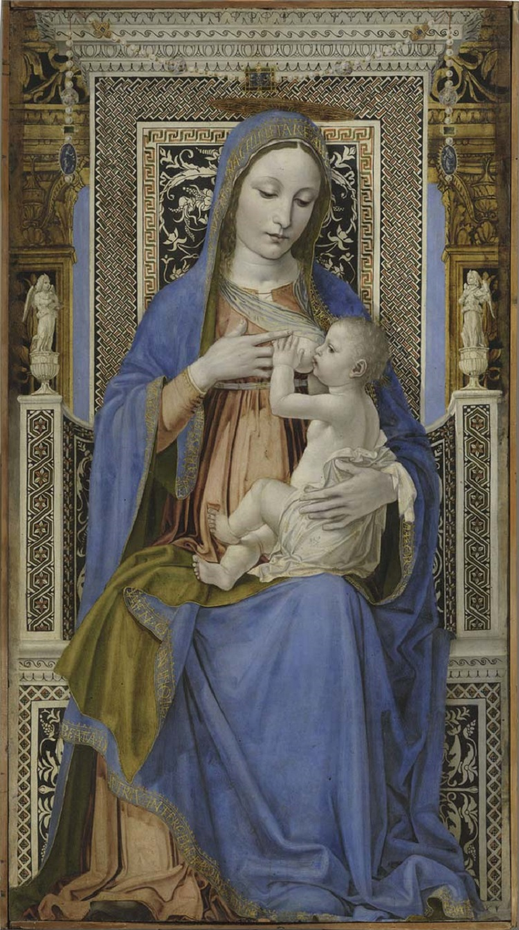 Bergognone, Madonna in trono con il Bambino