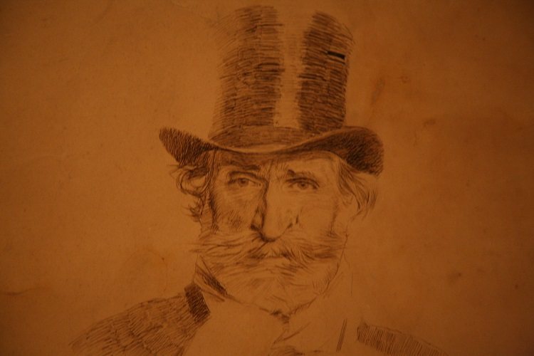 Boldini Giuseppe Verdi