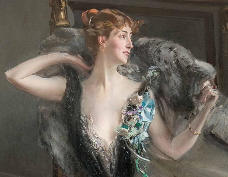 Boldini, Ritratto della contessa Speranza