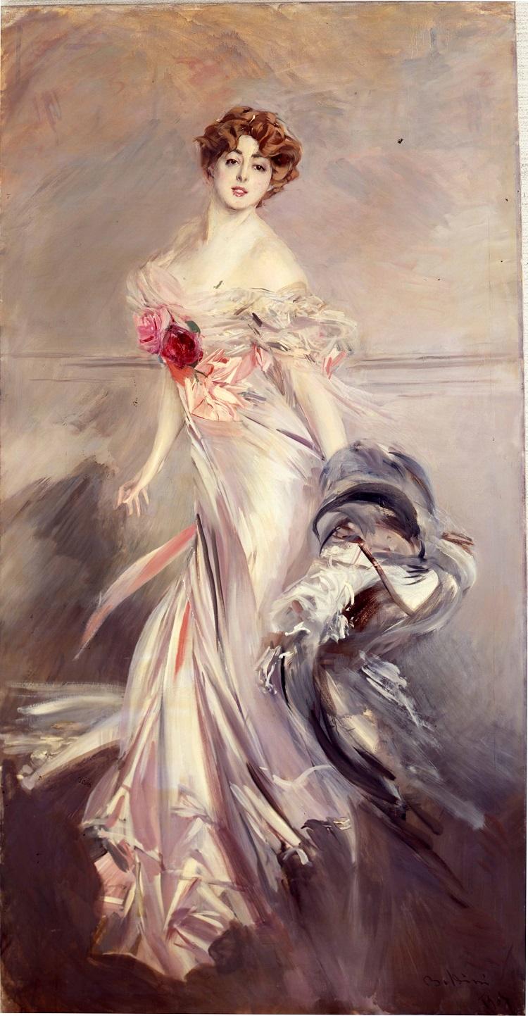 Boldini, Ritratto di Marthe Regnier.