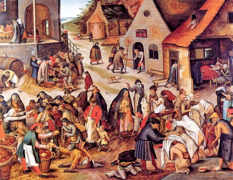 Le sette opere di misericordia | Brueghel | mostre bologna