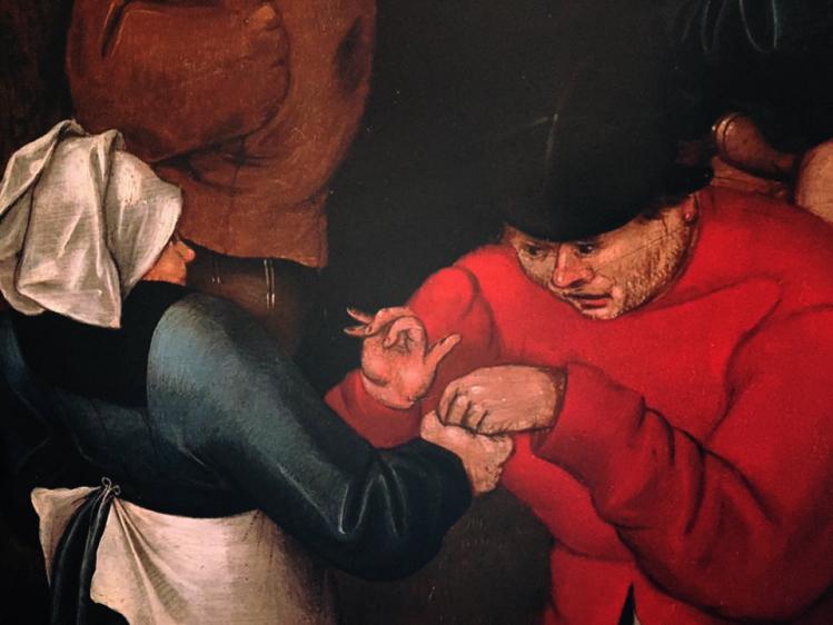 Danza nuziale all'aperto | Brueghel | mostre bologna