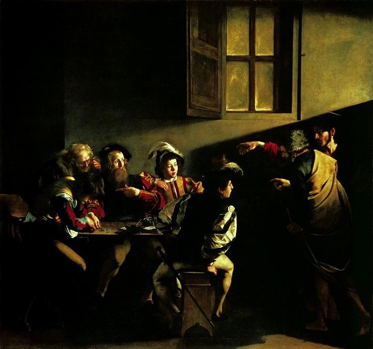 """Caravaggio """"Marta e Maria Maddalena"""", 1598 ca. - Detroit Institute of Arts"""