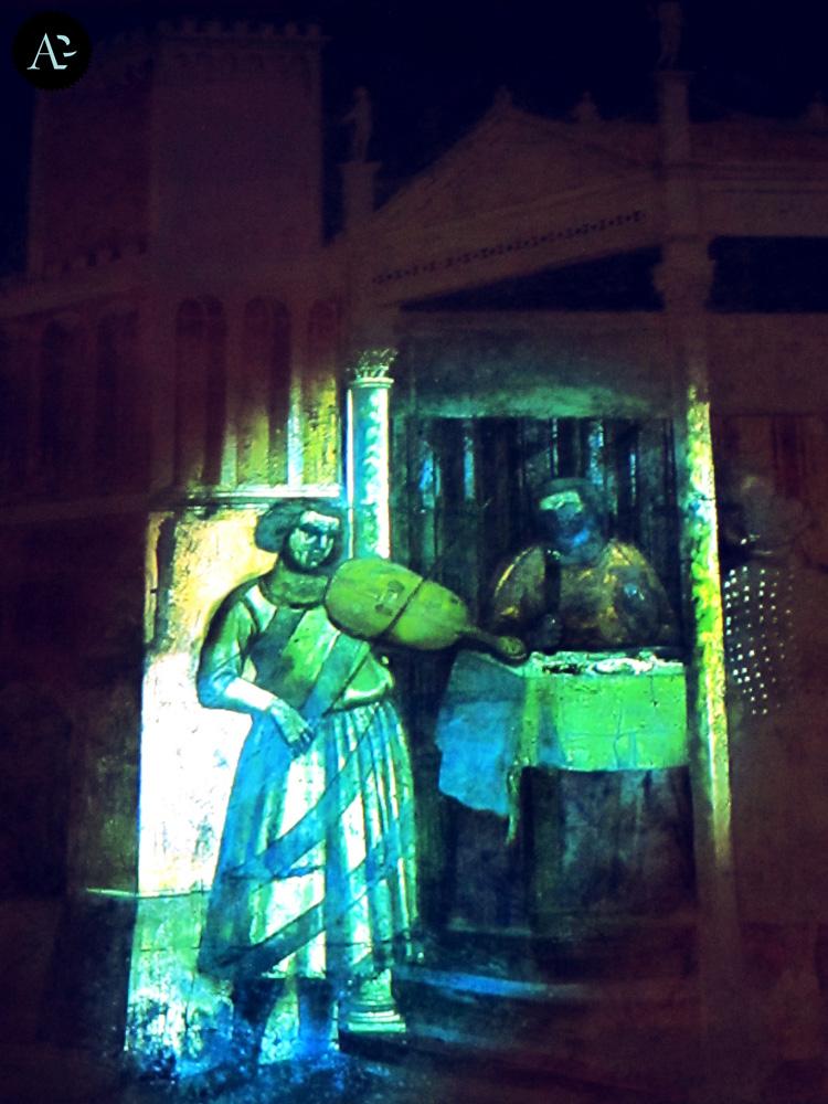 Cappella Peruzzi | ricostruzione virtuale | Palazzo Reale | mostre Milano
