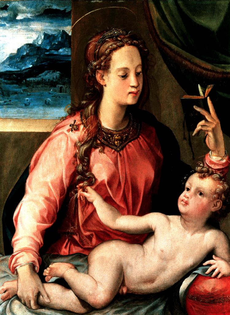 Madonna col Bambino | Carlo Portelli | mostre Firenze