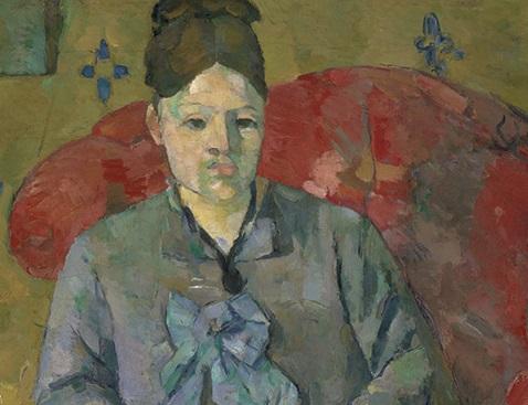 Hortense Fiquet | Paul Cezanne | Post-Impressionism