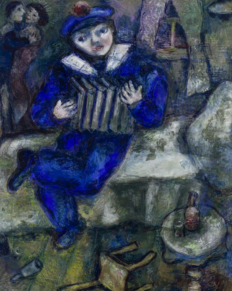 Accordion | Marc Chagall | mostre Catania