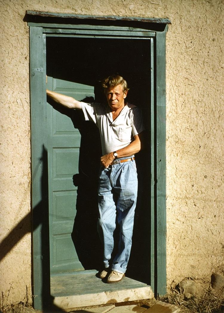 Charles_Pollock a Taos_New Mexico, 1956 (Foto Sylvia Winter) ok