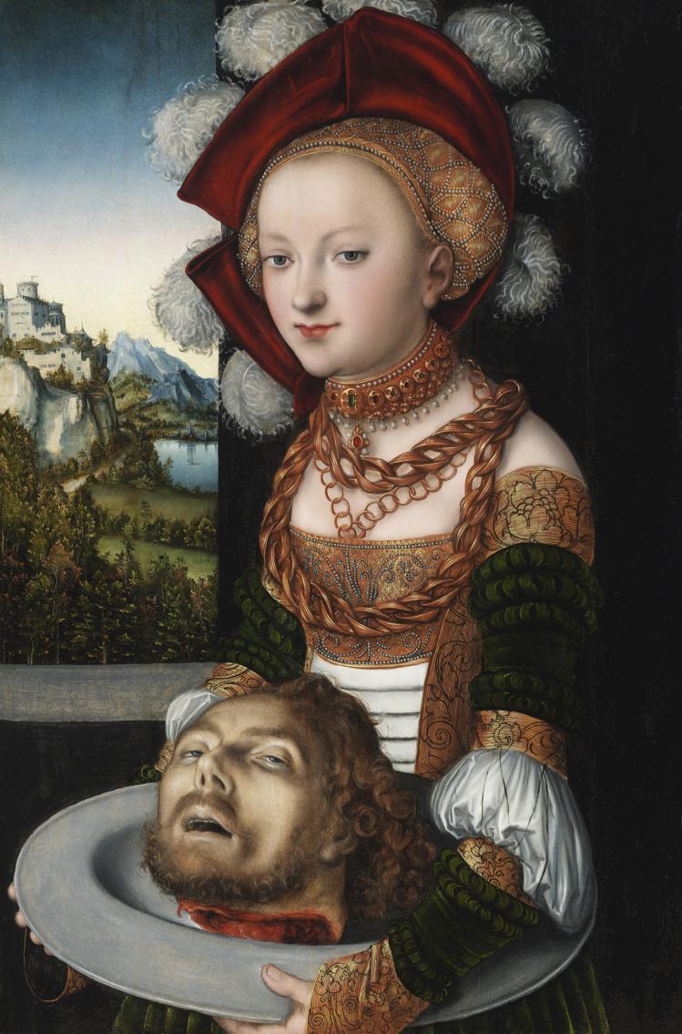 "Lukas Cranach ""Salomè"" (1530)"