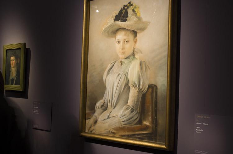 """Enst Klimt """"Helene Klimt"""", 1891 (collezione Privata)"""