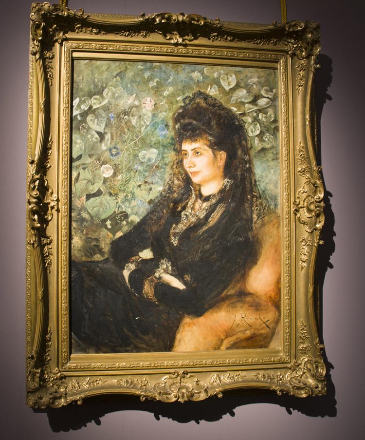 """Anton Romako, """"Mathilde Stern, nata Porges"""", 1889. Vienna, Belvedere"""