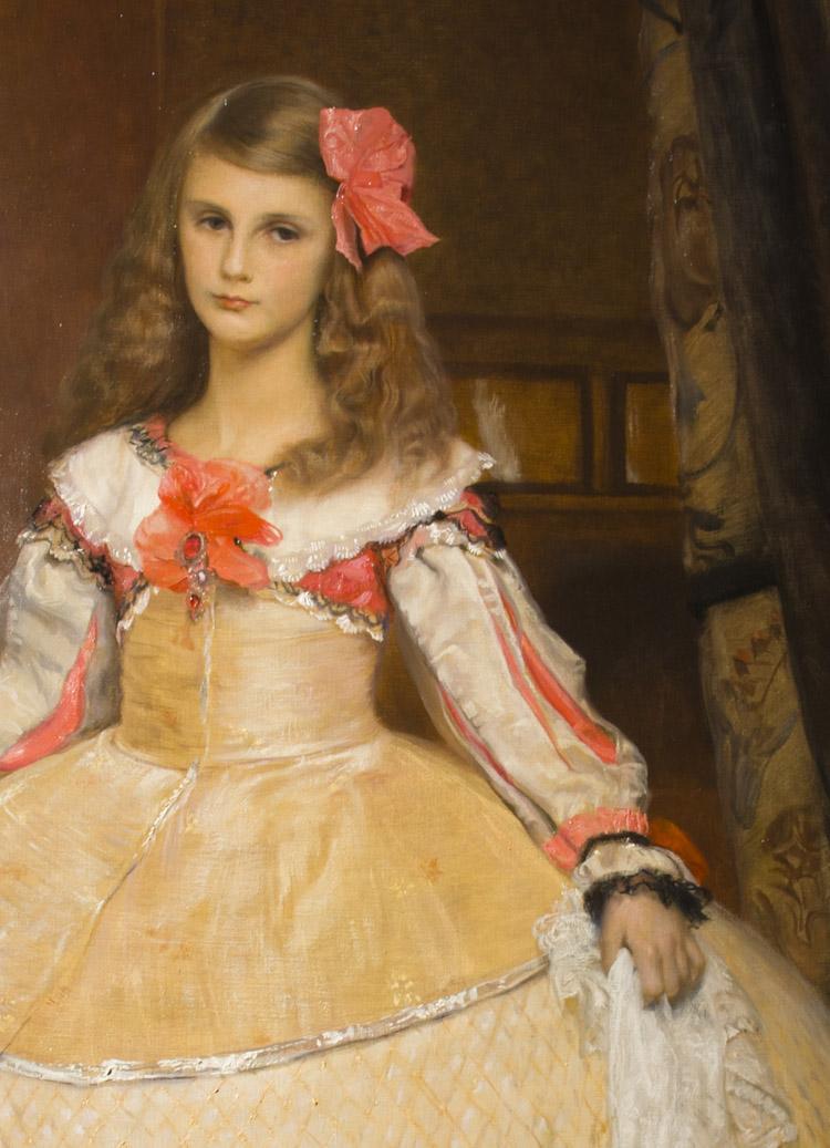 """Franz Matsch, """"Hilde Matsch"""", 1907."""