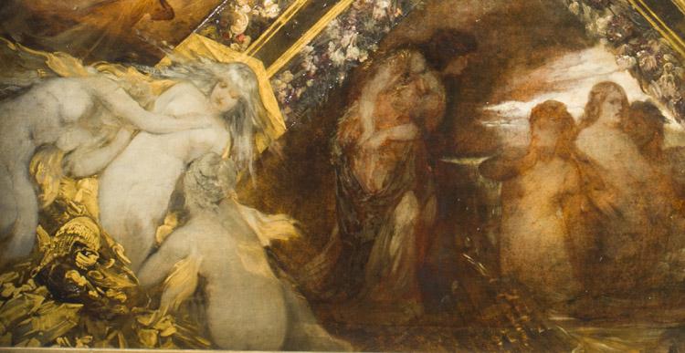 Hans Makart. L'anello di Nivbelungo. 1870-72. (dettaglio)
