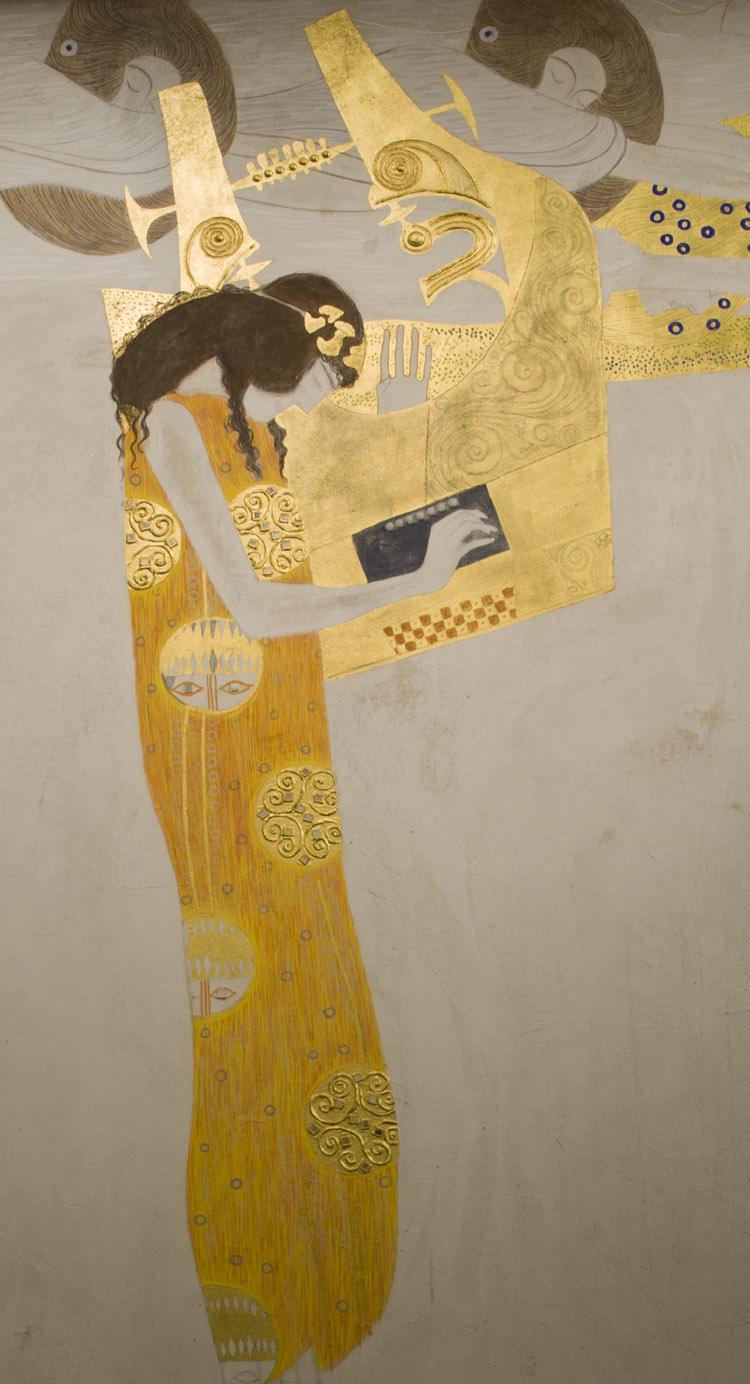 Klimt. Fregio di Beethoven (dettaglio)