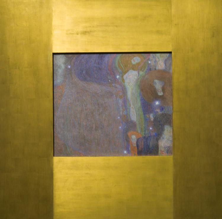 """Gustav Klimt, """"Fuochi Fatui"""". 1903"""