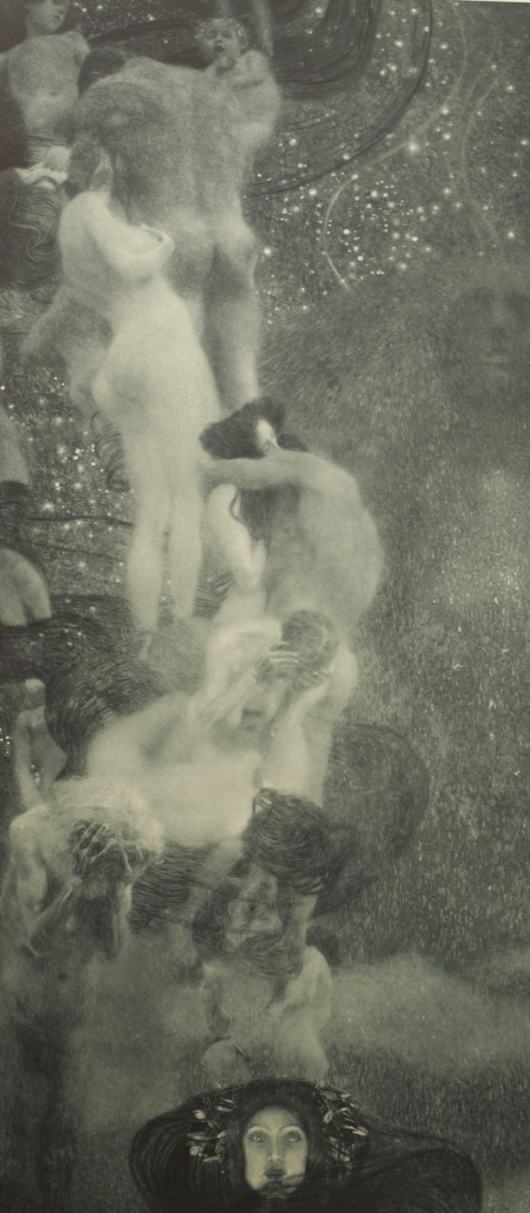 Gustav Klimt. La Filosofia(dettaglio)