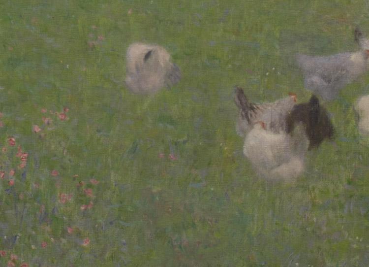 Klimt. Dopo la pioggia. 1898 (dettaglio)