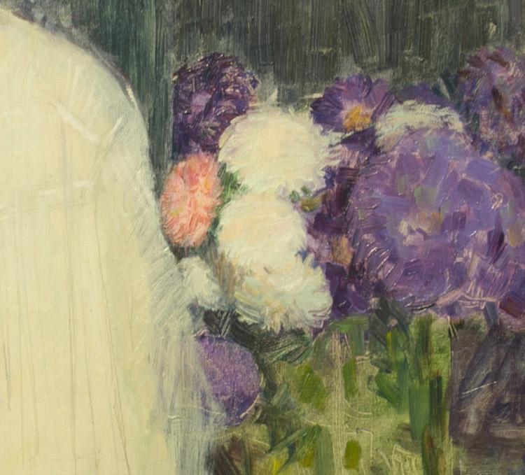 Maximilian Kurzweil. Mira Baure, 1908 (dettaglio)