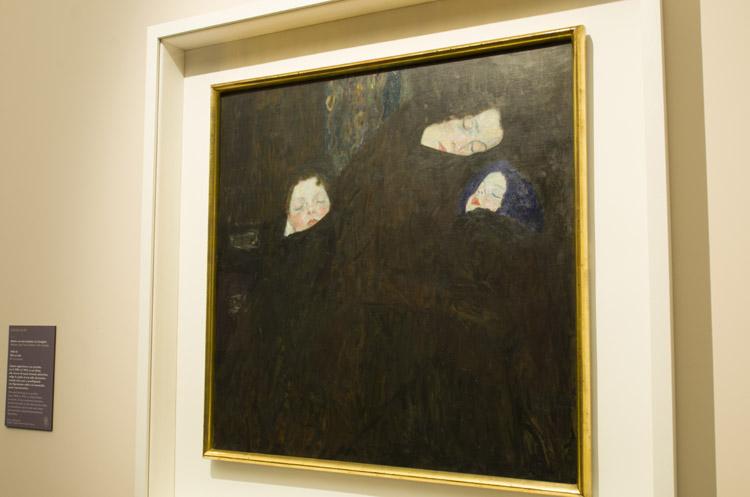 """Gustav Klimt, """"Madre con due bambini (la famiglia)"""", 1909-1910. Vienna, Belvedere"""