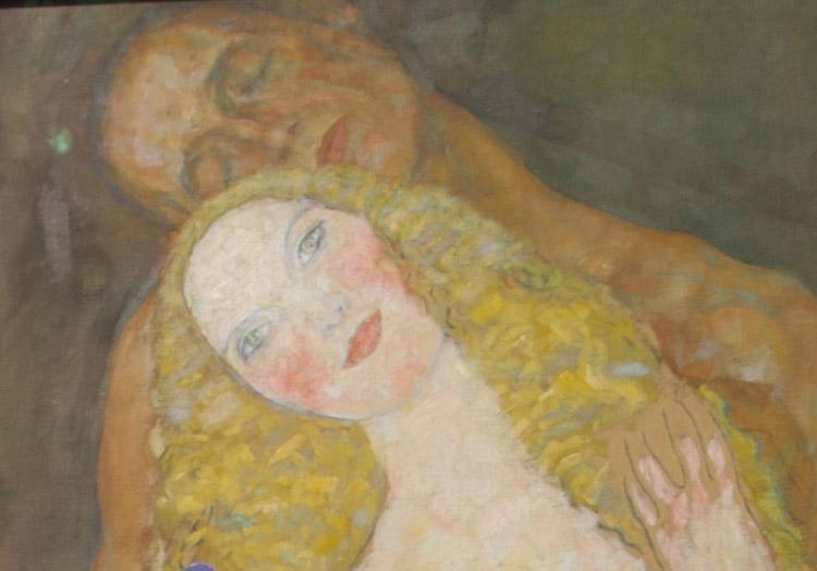 """Gustav Klimt, """"Adamo ed Eva"""" (dettaglio)"""