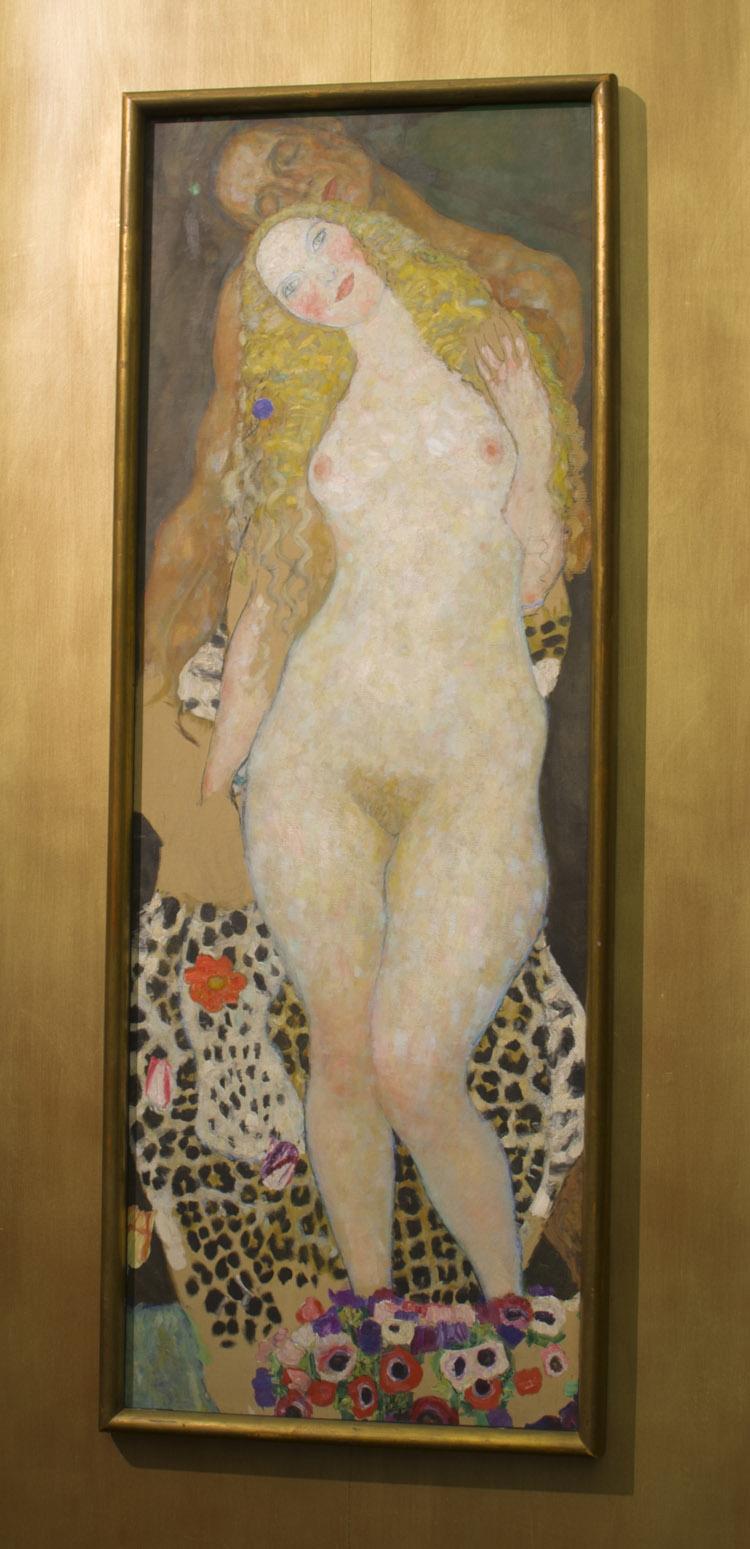 "Gustav Klimt, ""Adamo ed Eva"" (incompiuto), 1917-1918. Vienna Belvedere"