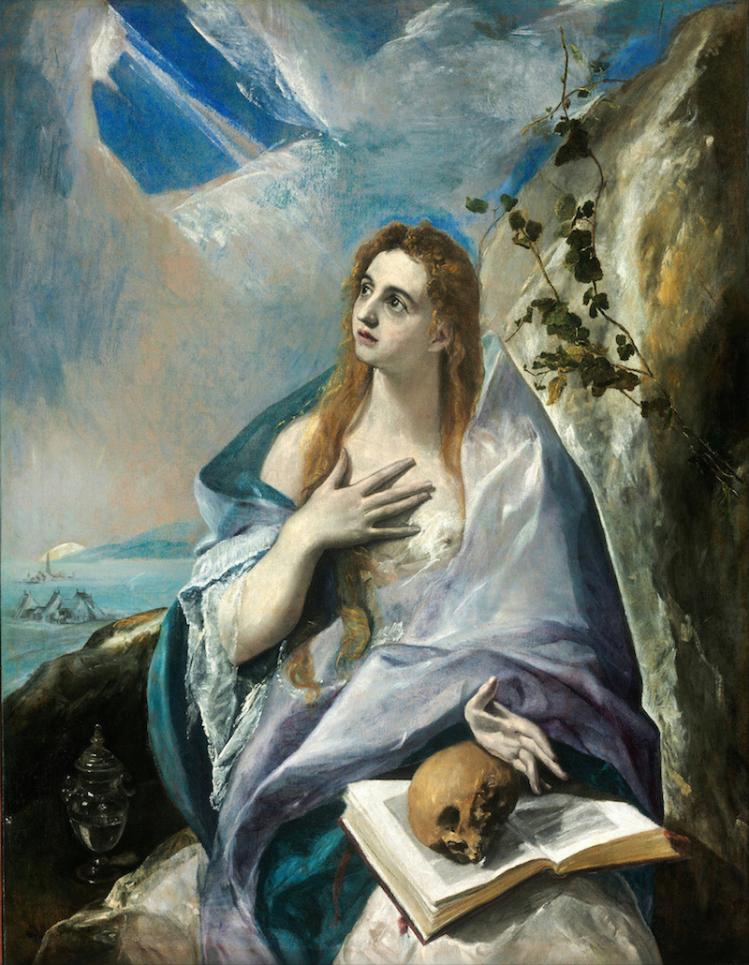 El Greco-Santa Maddalena Penitente-Museo di Belle Arti, Budapest