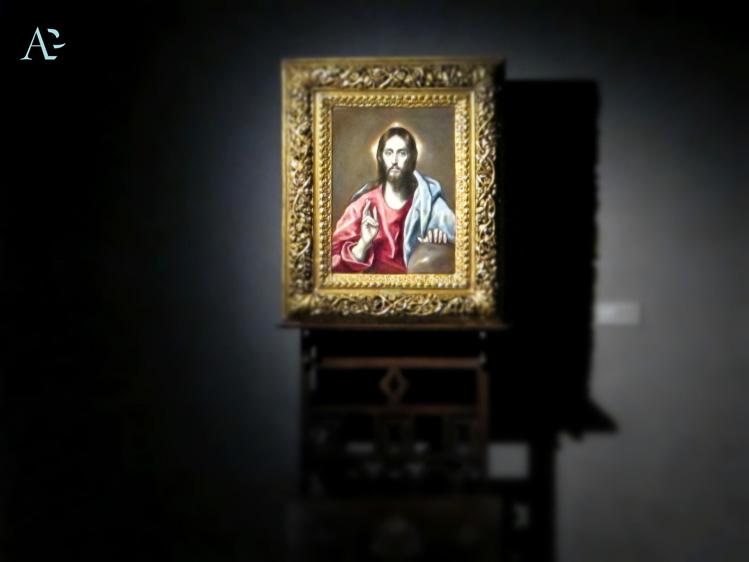 Cristo Benedicente | El Greco | mostre Treviso