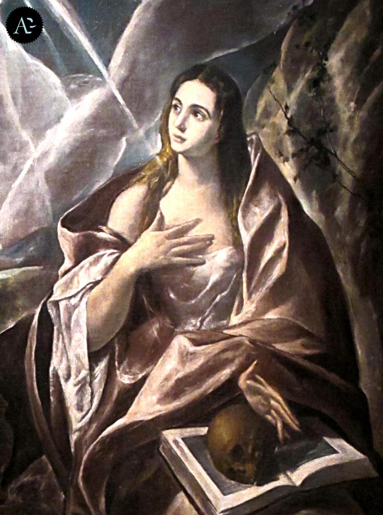Santa Maddalena penitente| El Greco | mostre Treviso