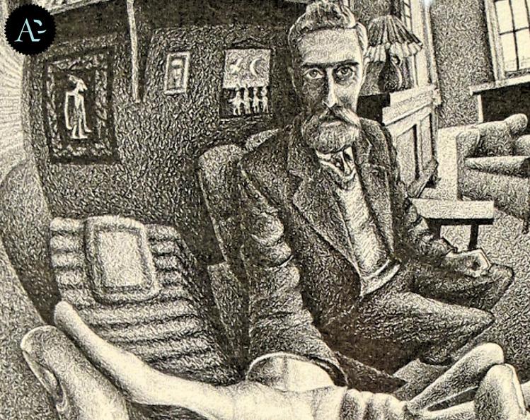 Mano con sfera riflettente (Autoritratto allo specchio) | Maurits Cornelis Escher
