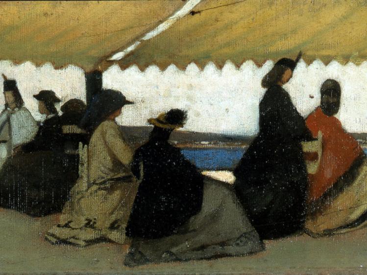 La rotonda di Palmieri a Livorno   Giovanni Fattori   mostre Padova