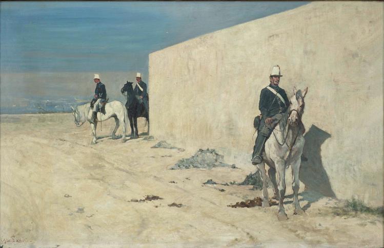 Piantoni. Il muro bianco (In vedetta) | Giovanni Fattori | mostre Padova