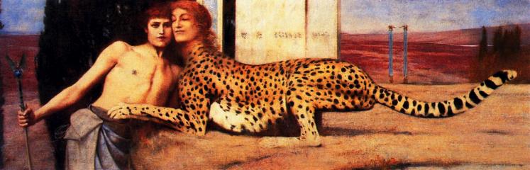 Fernand Khnopff   Caresses   mostre Milano