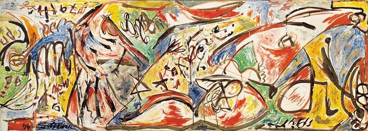 Jackson Pollock  The Water Bull, 1946  olio su tela, Stedelijk Museum, Amsterdam