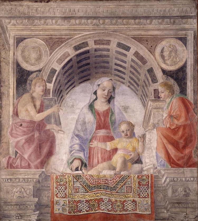 Foppa, Madonna del tappeto
