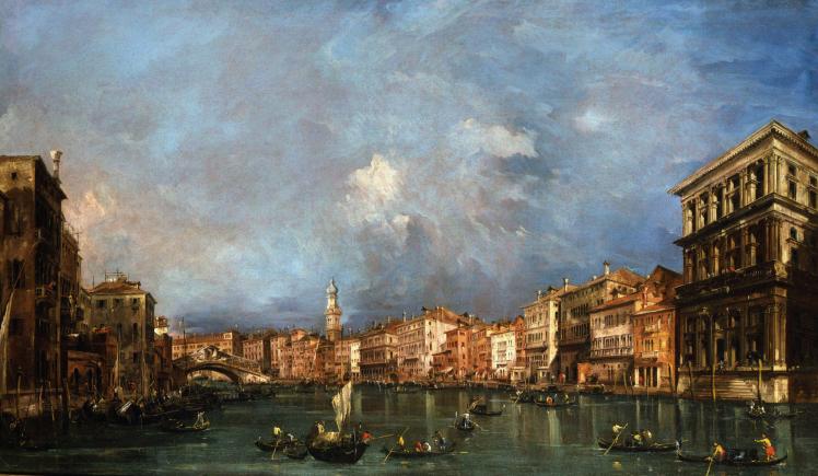 Veduta del Canal Grande | Francesco Guardi | Londra