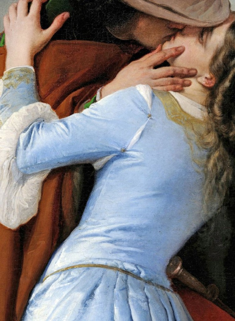 Francesco Hayez The Kiss 1859