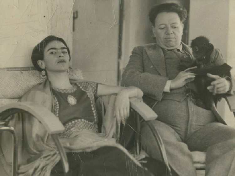 Frida Kahlo e Diego Rivera 3