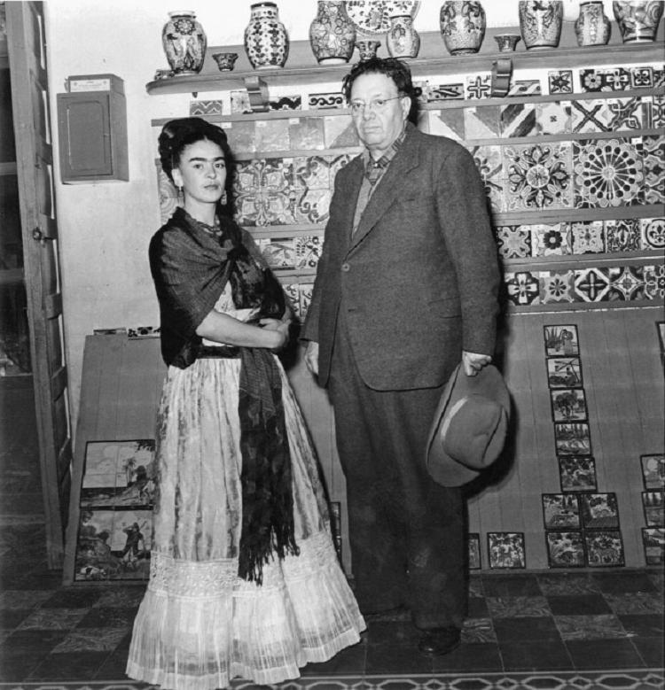 Frida Kahlo e Diego Rivera 4